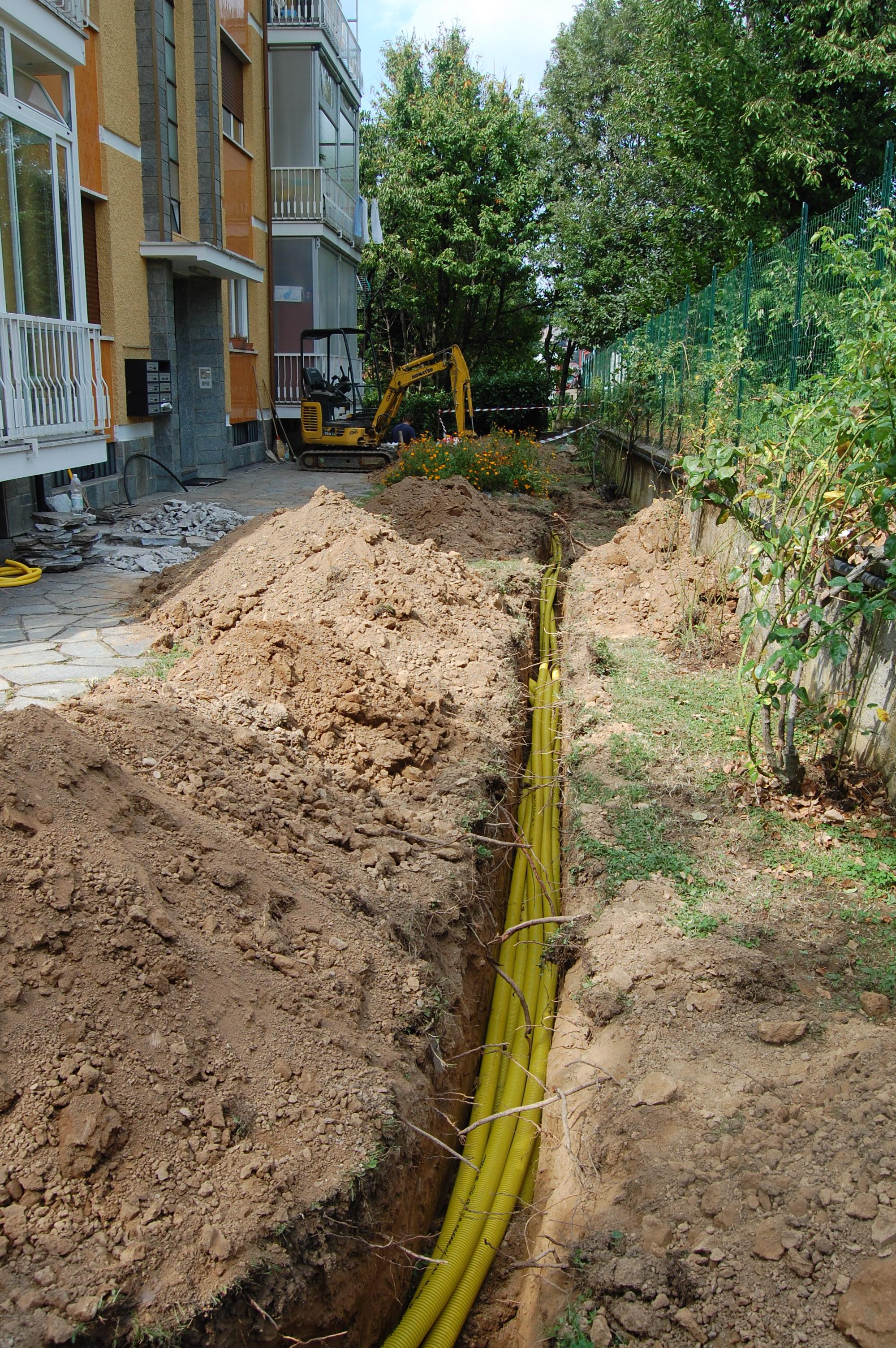 Impianti gas - Tubazioni gas metano interrate ...
